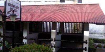 Tempat kuda di samping rumah Bung Hatta, Bukittinggi.