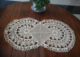 RB051 sulaman rajut Crochet