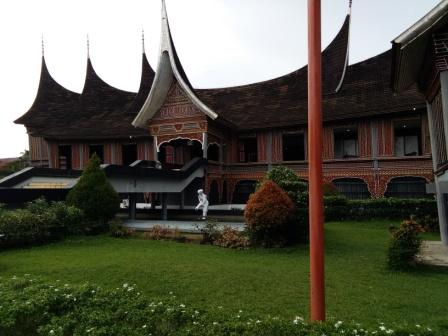 museum adityawarman di Padang.