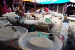 penjual tepung beras di pasar bawah.