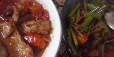 tombak bawang dan daging kecap