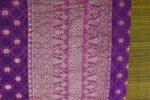 songket warna ungu-bagian kepala-